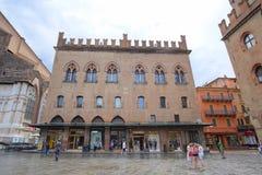 house in a center of Bologna Stock Photos