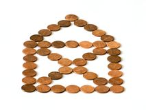 House of cents Royalty Free Stock Photography