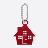 House On Chain Royalty Free Stock Image