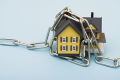 House with Chains Stock Images