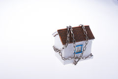 House in chains Stock Photography