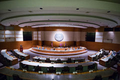 House  chambers. The House chamber in the New Mexico State Capitol, Santa Fe, New Mexico Stock Photography