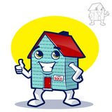 House Character Icon Royalty Free Stock Image