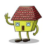 House character Royalty Free Stock Photo
