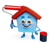 House character is painting Stock Photography