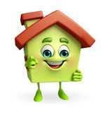 House character is pointing Stock Photos
