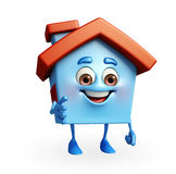 House character is pointing Stock Photography