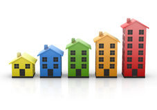 House chart Stock Photo
