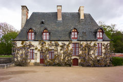 A house at Chenonceau. A house in the grounds of the Chateau at Chenonceau, France Royalty Free Stock Images