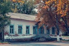 House in Chernobyl Stock Photo