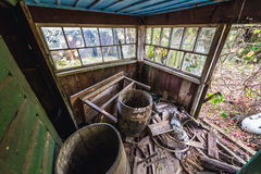House in Chernobyl Zone Royalty Free Stock Image