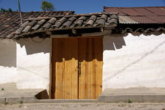 House in Chichicastenango, Guatemala Royalty Free Stock Photo