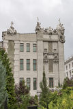 House with Chimaeras in Kiev royalty free stock photo