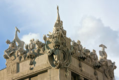 House with Chimaeras, Kiev, Ukraine Stock Photos