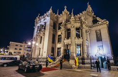 House with Chimaeras stock images