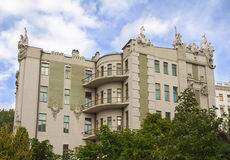The house with chimeras - president residence, Kyiv, Ukraine Royalty Free Stock Photography