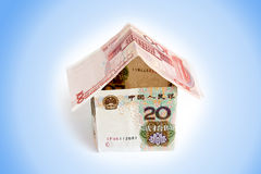 House of Chinese Money Royalty Free Stock Photography