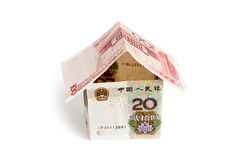 House of Chinese Money isolated Stock Images