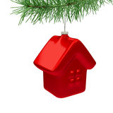 House Christmas Tree Toy Royalty Free Stock Photo