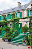 House of  Claude Monet in Giverny Stock Photos