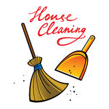House Cleaning Royalty Free Stock Photography