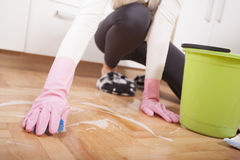 House cleaning Stock Photo
