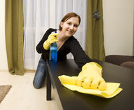 House cleaning Royalty Free Stock Image
