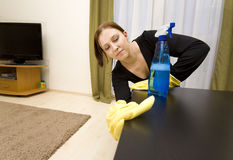 House Cleaning Royalty Free Stock Images
