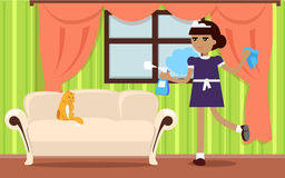 House Cleaning Banner Royalty Free Stock Photo