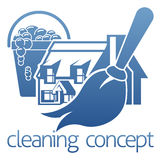 House Cleaning Concept Royalty Free Stock Images