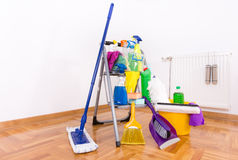 House cleaning concept Royalty Free Stock Photo