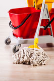 House cleaning detail Royalty Free Stock Photography
