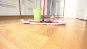 House cleaning stock footage