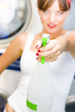 House Cleaning Holdup Stock Photos