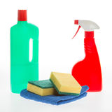 House cleaning product Royalty Free Stock Images