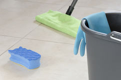Daily house cleaning Royalty Free Stock Images