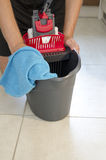Daily house cleaning Royalty Free Stock Image