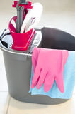 Daily house cleaning Stock Photography