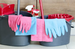 Daily house cleaning Royalty Free Stock Photo