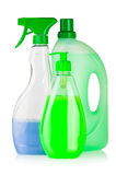 House cleaning supplies Stock Photos