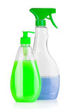 House cleaning supplies Royalty Free Stock Photography