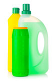 House cleaning supplies Royalty Free Stock Photo