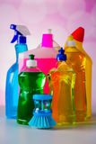 House cleaning theme Royalty Free Stock Photos