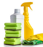 House cleaning tools Royalty Free Stock Photography