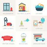 House Cleaning Royalty Free Stock Photos