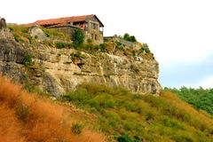 House on a cliff Stock Image