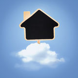 House on clouds Stock Photos