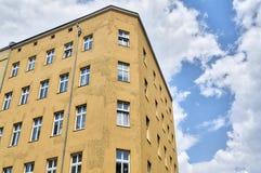 House and cloudscape, Berlin Kreuzberg Royalty Free Stock Photo