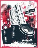 House Club Mix. Vector Illustration Stock Photo
