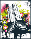 House Club Mix. Vector Illustration Stock Photography